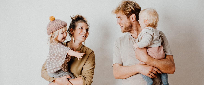 natürliche, moderne Familienfotos Mainz